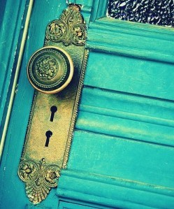 blue, cool, door, photography, vintage
