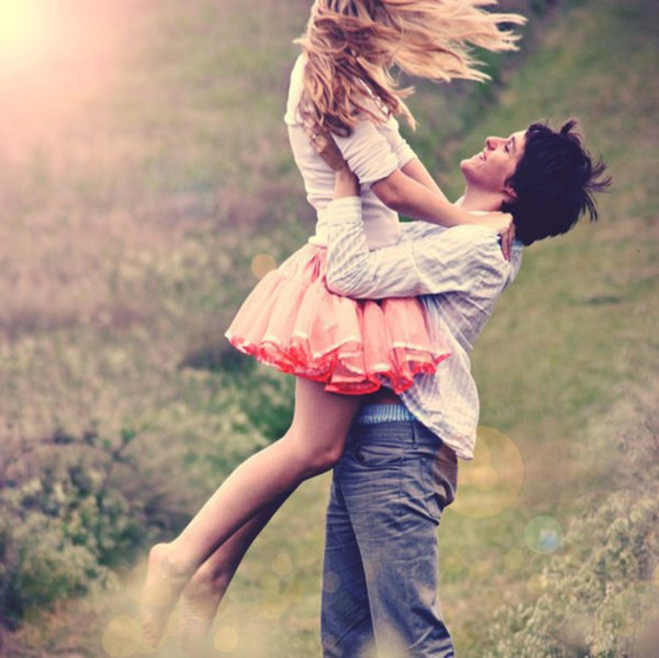 boyfriend, couple, fashion, girlfriend, happy, kiss, laughter, love