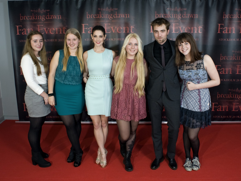 breaking dawn, kristen stewart, premiere, robert pattinson, sweden
