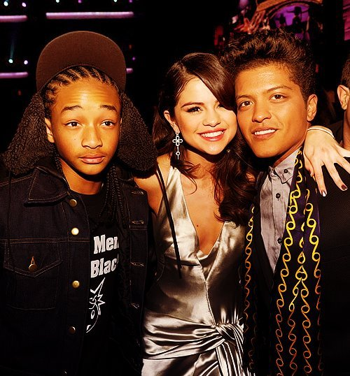 bruno mars, jaden smith, selena gomez
