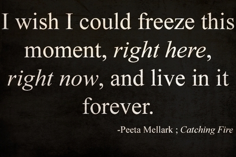 catching fire  hunger games  quote - image  261096 on Favim com