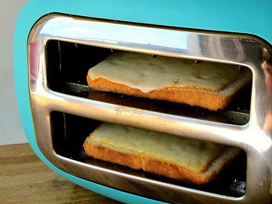 cheese, food, grilled, grilled cheese, kitchen, love, new, silly, toaster