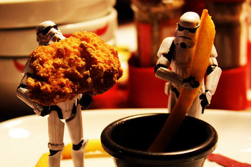 chips, eat, funny, meat, star wars