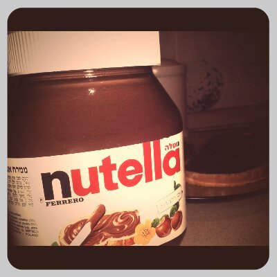 chocolate, food, love, nutella, photgraphy