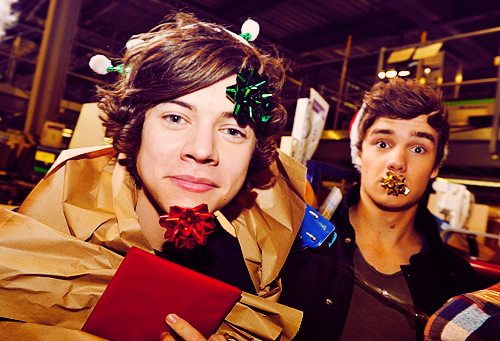 christmas, curly, fun, funny, harry