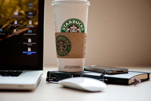 coffee, cute, starbucks