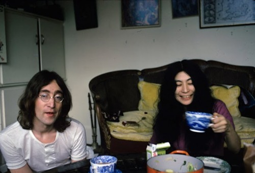 couple, john lennon, johnn lennon, yoko ono