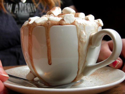 cozy, delicious, hot chocolate, marshmallows - image #262099 on Favim ...