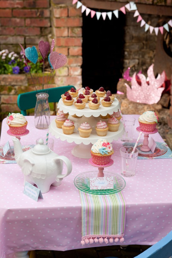 cupcake, cute, sweet, tea party
