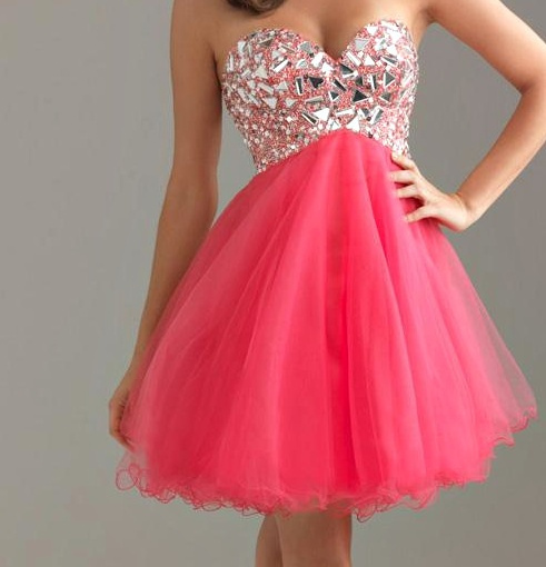 cute, dress, fifteen, glitter, pink