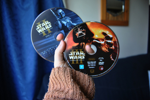 cute, dvd, photo, star wars ii, star wars iii