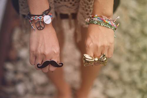 cute, fashion, moustache, photography
