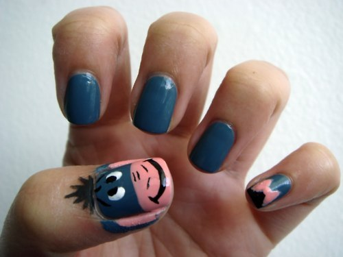 Easy Disney Nail Art Designs