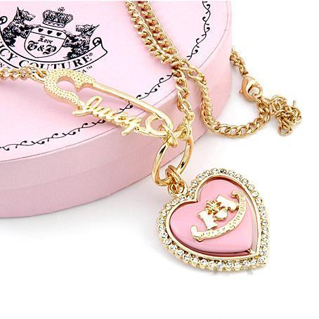 Cute jewelry juicy couture pink image 266841 on for Juicy couture jewelry necklace