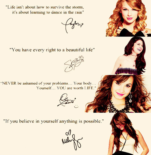 demi lovato, just mine, miley cyrus, quotes, selena gomez