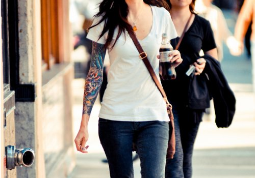 fashion, girl, ink, inked, outfit, sleeve, tattoo, tattoos, woman