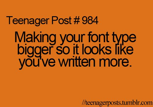 font, quote, school, teen, teenager. Added: Jan 17, 2012 | Image size: ...