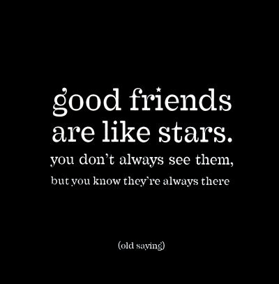 friends, friendship, love, stars