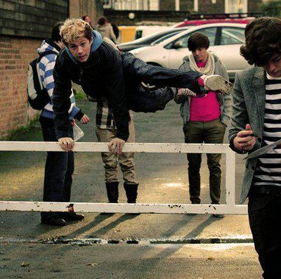 funny faces, harry styles, jump, jumping, liam payne
