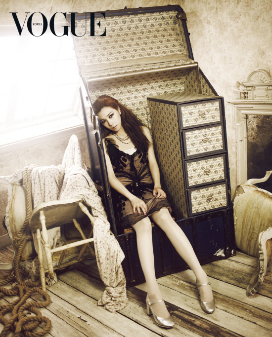 girls generation, snsd, tiffany, vogue, vogue girl, vogue girl korea, vogue korea
