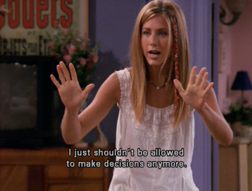 jennifer aniston, laurenalex, quote, rachel green, text