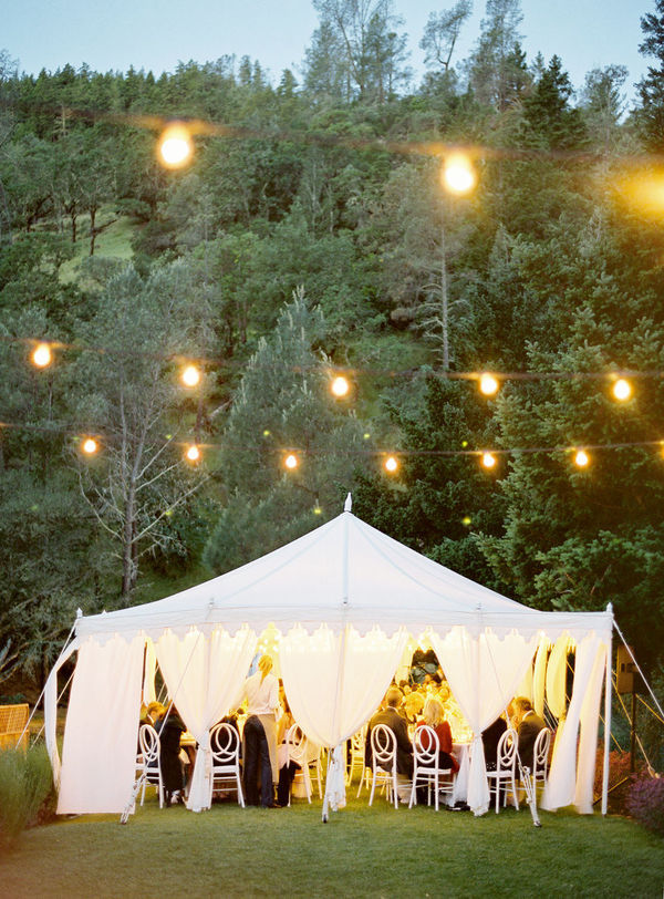 lights, napa valley, reception, special events, wedding