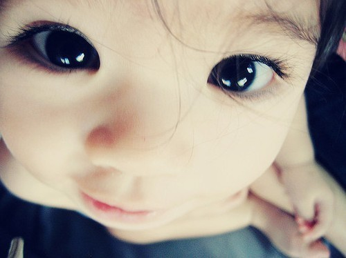 baby, beautiful, cute, eyes - image #270442 on Favim.com