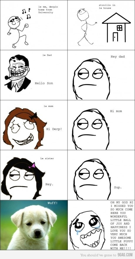 9gag, comic, cute, dad, derp