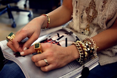 accessories, beautiful, bracelets, fashion, girl, nice, rings, style