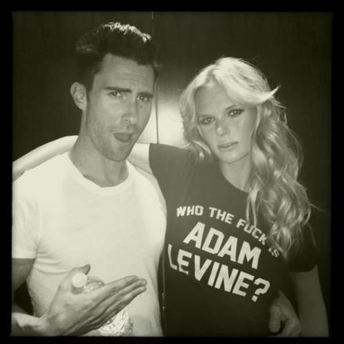 adam levine, anne v, maroon 5