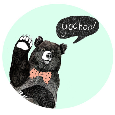 adorable, art, bear, cute, dear, photo, pretty, vintage, yoohoo!