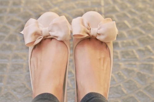 adorable, beautiful, bow, creme, cute, fashion, flats, girl, photography, shoes