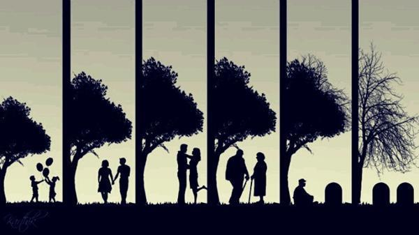 adult, childhood, death, die, kids, love, old, piece, rest, romantic, teen, teenagers, tree, true love, young