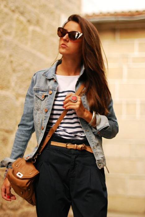 alloe, bag, fashion, girl, hair, hipster, jacket, jeans, model, rings, streetstyle, style, sunglass