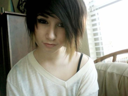 alternative, alternative girl, brown hair, cute, girl, scene