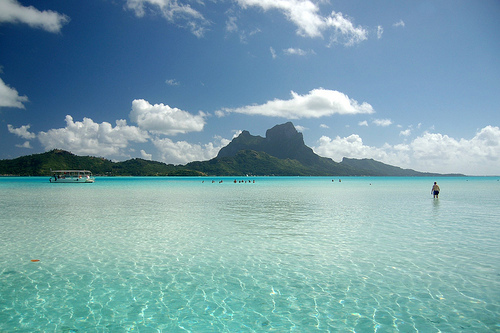 amazing, beach, beautiful, bora bora, clear