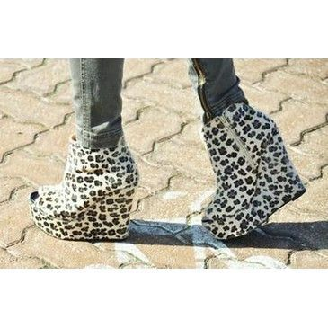 animal print, fashion, high heels, platforms, shoes