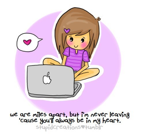 apple, computer, girl, laptop, love, mac, text