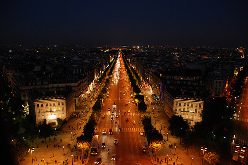 arc de triomphe, architecture, awesome, beautiful, building, buildings, car, cars, city, color, colorful, colors, france, house, houses, inspire, light, lights, night, paris, photo, photography, place, places, pretty, street