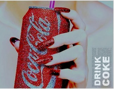 art, coca cola, coke, cute, fashion
