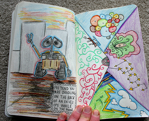 art, colors, want, wreck this journal