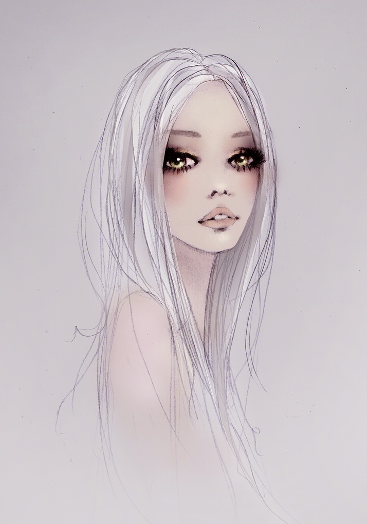 art, drawing, fashion, fashion illustration, girl