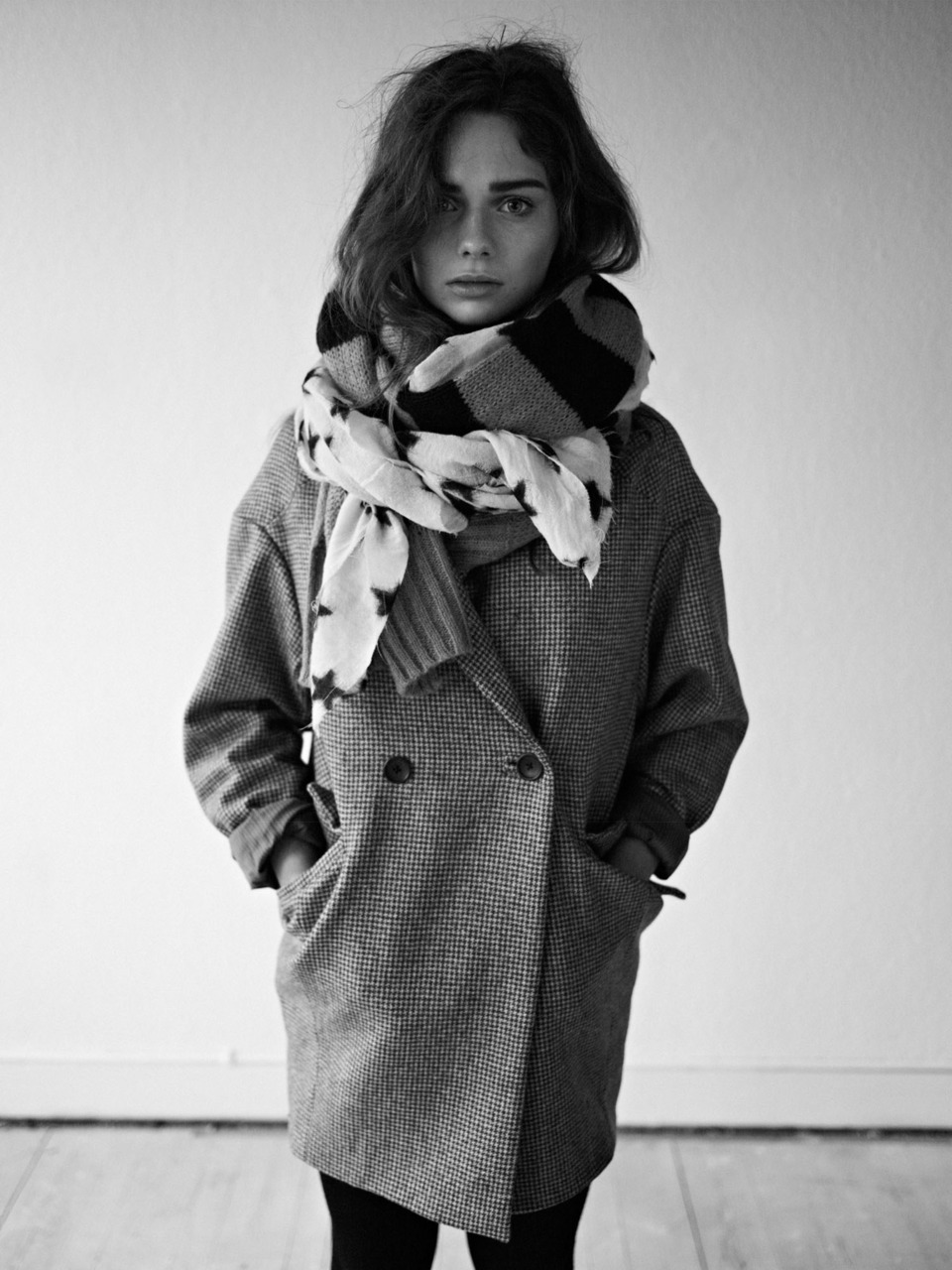 autumn winter 2011, black and white, clothing, coat, fashion