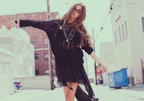 awesome, beautiful, black, black cardigan, cardigan, clothes, cool, fashion, model, photography, prettty, so cool, street