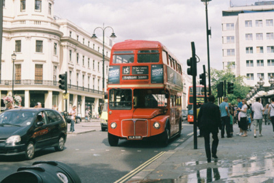 awesome, bus, cool, double decker bus, london, red bus, vintage