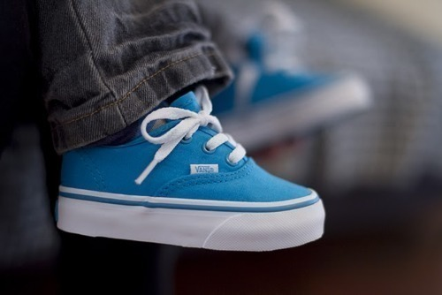 aww, baby, blue, cute, little vans