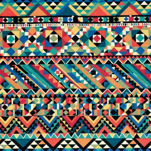 aztec, aztec pattern, black, blue, colorful
