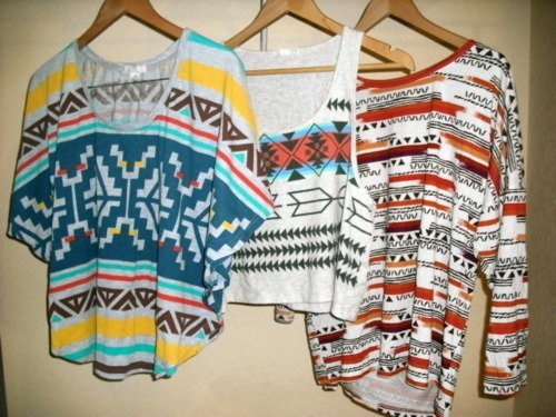 aztec, bohemian, colorful, cool, fashion, mosaic, navajo, prints, tanks, tees, trendy, tribal