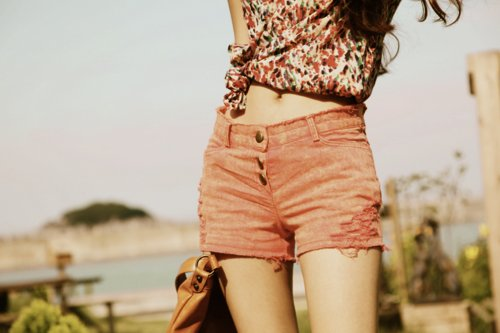 bag, beautiful, boho, denim, fashion, flowers, gap, jeans, legs, perfect, shorts, skinny, stomach, thin