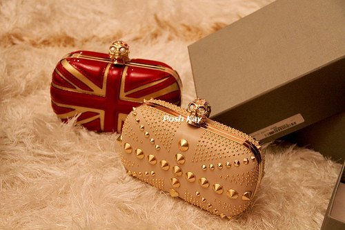 bag, clutch, fashion, mcqueen, sequins